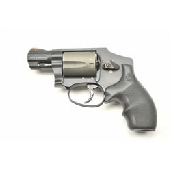 Smith & Wesson Model 342-1 Air Lite Ti DA  Hammerless revolver, .38 Special caliber,  Serial #CFK645