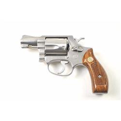 Smith & Wesson Model 60 DA revolver, .38  Special caliber, Serial #R212128.  The pistol  is in nearl