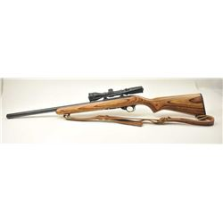 "Clark Custom Ruger 10/22 semi automatic  rifle, #290-16774, .22 Mag., 21"" Clark Custom  bull barrel,"