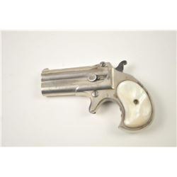 "Remington Elliot's Patent O/U Derringer in  .41 rimfire with two-line address ""E.  Remington & Sons"