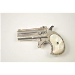 "Remington Elliot's Patent O/U Derringer in  .41 rimfire with two-line address ""E.  Remington & Sons"