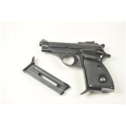 Beretta Model 70S semi automatic pistol,  #A90561U, .22 LR cal., 3 ½�� barrel, blued  finish, adjusta