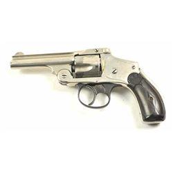 Smith & Wesson Top Break Lemon squeezer DA  revolver, .38 S&W caliber, Serial #200664.   The pistol