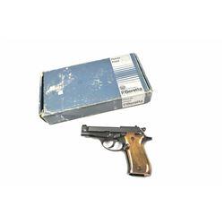 Beretta Model 84 DA semi-automatic pistol,  .380 ACP caliber, Serial #B02873Y.  The  pistol is in ne