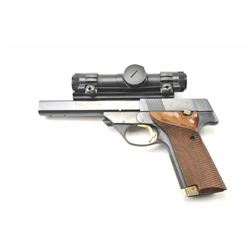 High Standard The Victor semi-automatic  pistol, .22 Long Rifle caliber, Serial  #ML26378.  The pist