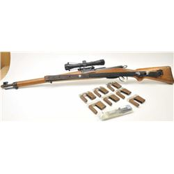 Schmidt Rubin Model K-31 straight pull rifle,  7.5 x 55 caliber, Serial #971008.  The rifle  is in v