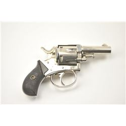 British Bulldog DA revolver, .38 caliber,  Serial #11638.  The pistol is in fine overall  condition