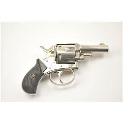 British Bulldog DA revolver, .38 caliber,  Serial #11638.  The pistol is in fine overall  condition