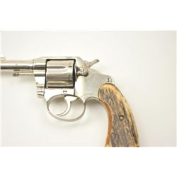 Colt Police Positive DA revolver, .38  caliber, Serial #114103.  The pistol is in  very good overall