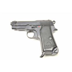 """Beretta Model 35 in .32 ACP caliber marked  """"PSF"""" and 1952 dated with brown canvas  holster and extr"""