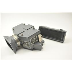 WWII U.S. Navy marked aircraft torpedo  camera, Type 1, Serial #4943-44.  The camera  is the type us
