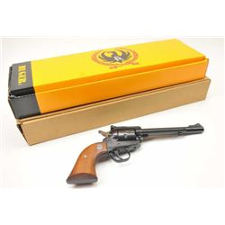 Ruger New Model Single Six revolver, Serial  #262-89453, in .22 Long Rifle with an extra  cylinder i
