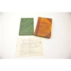 """Lot of two books from a local estate. The lot  includes two titles: """"Practical Rifle Shooting"""" by Wa"""
