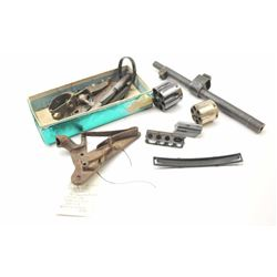 Bonanza lot of parts including butt plates,  firing pins, bolts, extractors, cylinders and  numerous