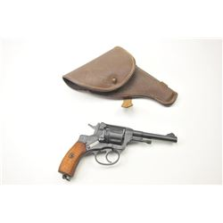 Nagant Model 1895 DA revolver, 7.62 x 38R  caliber, Serial #189529733.  The pistol is in  nearly exc