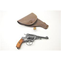Nagant Model 1895 DA revolver, 7.62 x 38R  caliber, Serial #189529733.  The pistol is in  nearly exc