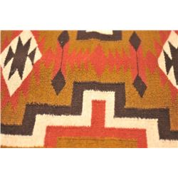 "Beautifully woven Navajo Indian rug measuring  29 ½"" x 19"" in very good to nearly excellent  conditi"