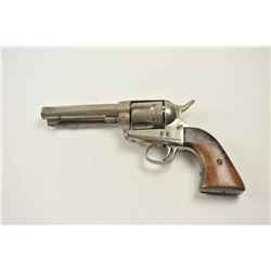 Mexican copy of a Colt SAA revolver, .44  caliber, Serial #23.  The pistol is in fair  to good overa