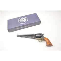 Remington 1858 .44 caliber reproduction black  powder revolver by Armi San Marco in  original box. N