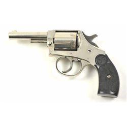 U.S. Pistol Co. DA revolver, .32 S&W caliber,  Serial #NSNV.  The pistol retains a  significant amou