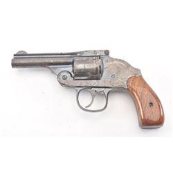 Harrington & Richardson Top Break DA  revolver, .38 caliber, Serial #112458.  The  pistol is in good