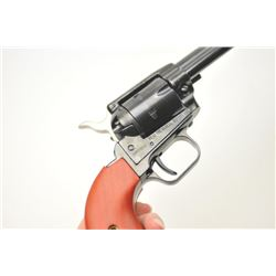 Heritage Rough Rider SA revolver, .22 Long  Rifle caliber, Serial #3HR015812.  The pistol  is in nea