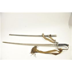 Late 19th to early 20th century D guard  cavalry style sword in Austrian style with no  maker's or I