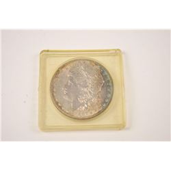 One un circulated Morgan dollar from year  1887 Est:$20-40