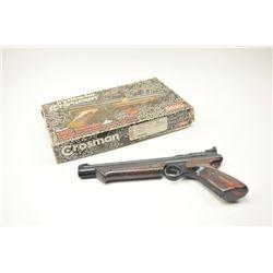 Lot of two Crosman pump air pistols.  The lot  includes a Crosman Model 1300 Medalist .22  pump air