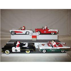 4 Chevrolet 1950s Santa Cars