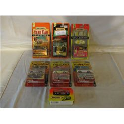 7 Chevrolet Match Box 1950s Car Models