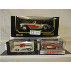 5 Chevrolet Assorted Corvette Car Models