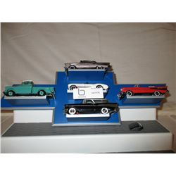 Chevrolet Logo Hanging Display Piece with 5 Truck and Car Models