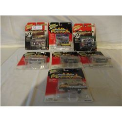 7 N.I.P Chevrolet Assorted Johnny Lightning Cars