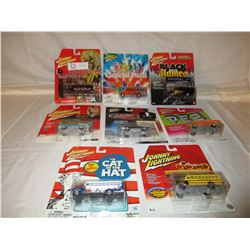 8 N.I.P Chevrolet Assorted Johnny Lightning Cars
