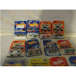 15 N.I.P Chevrolet Assorted Hot Wheels and Match Box