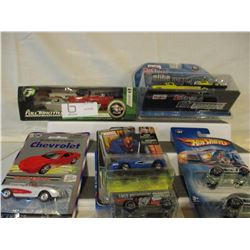 11 N.I.P Chevrolet Assorted Hot Wheel Cars and etc.