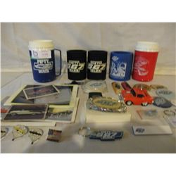 "Box of Chevrolet ""567"" Club Memorabilia"