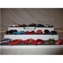 Box of 37 Chevrolet Assorted Match Box Cars and Trucks