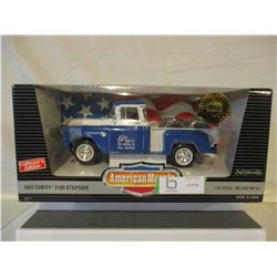 N.I.B Chevrolet 1955 3100 Step-Side Truck 1/18 Scale