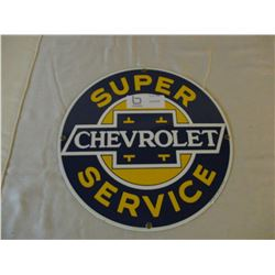 Chevrolet Round Logo Sign