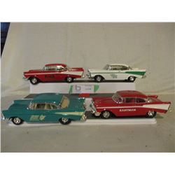 4 Chevrolet 1957 Car Models