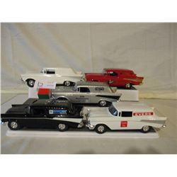 5 Chevrolet 1957s Car Banks