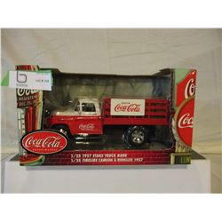 N.I.B Chevrolet 1957 Coca-Cola State Bank Truck 1/25 scale