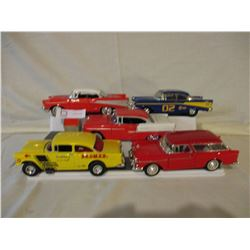 5 Chevrolet 1955 and 1957 Car Models