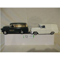 2 Chevrolet 1950s Panel Wagons