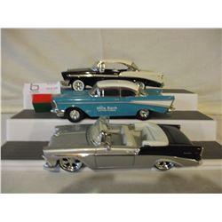 3 Chevrolet 1950s Car Models