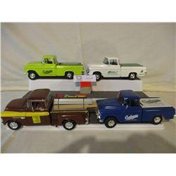 4 Chevrolet 1950s Truck Models