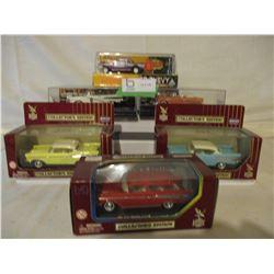 6 N.I.B Assorted 1957s Chevrolet Miniature Car Models