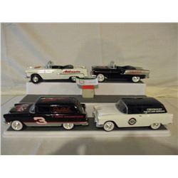 6 Chevrolet 1955 Car Models